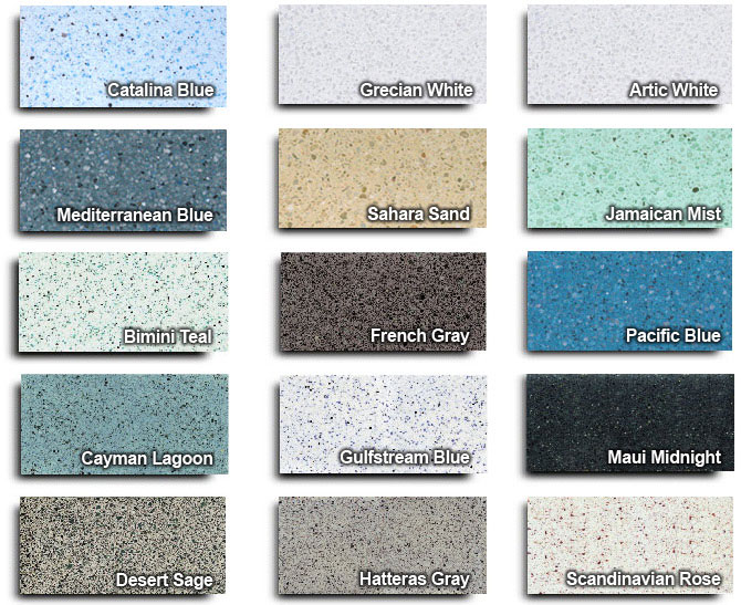 Hydrazzo Pool Materials From Tropical Pools Tropical Pools